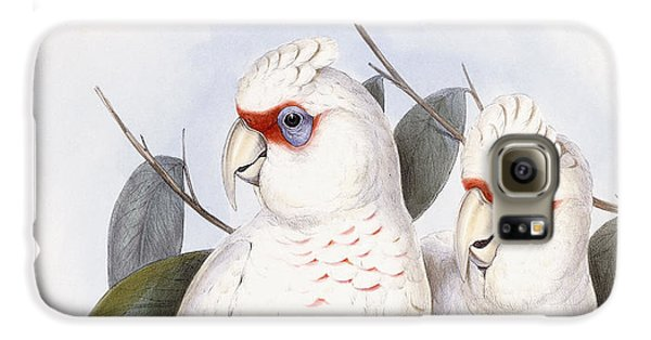 Long-billed Cockatoo Galaxy S6 Case by John Gould