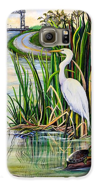 Louisiana Wetlands Galaxy S6 Case by Elaine Hodges