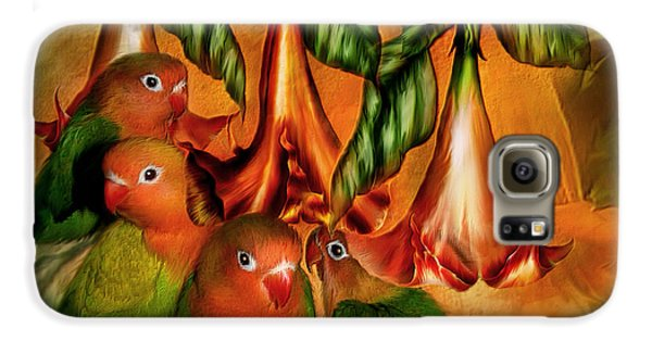 Love Among The Trumpets Galaxy S6 Case by Carol Cavalaris