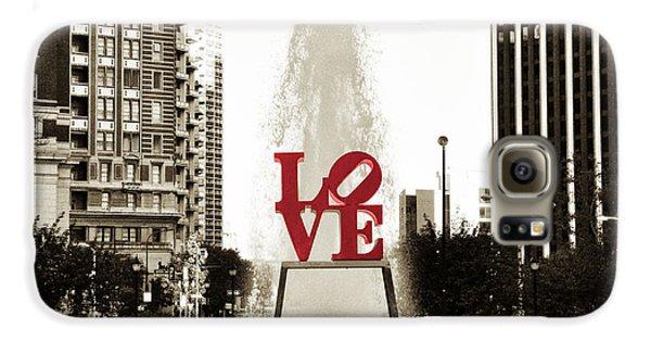 Love In Philadelphia Galaxy S6 Case by Bill Cannon