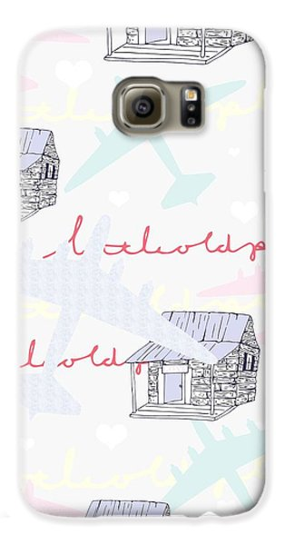 Love Shack Galaxy S6 Case by Beth Travers