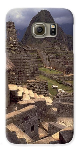 Galaxy S6 Case featuring the photograph Machu Picchu by Travel Pics