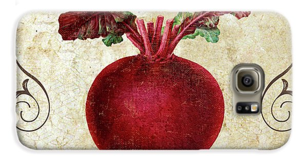 Mangia Radish Galaxy S6 Case by Mindy Sommers