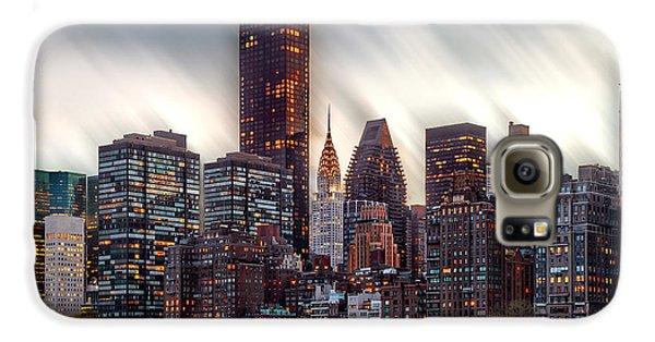 Manhattan Daze Galaxy S6 Case by Az Jackson