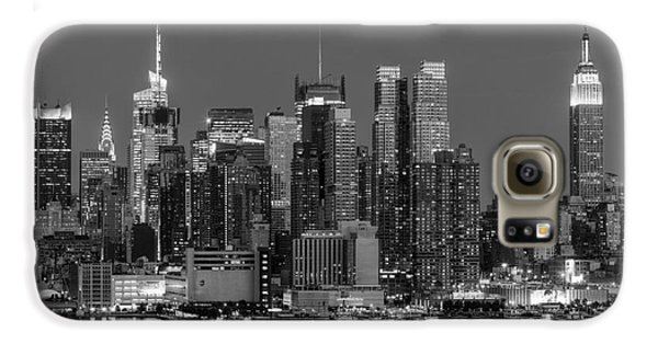 Manhattan Twilight Iv Galaxy S6 Case by Clarence Holmes