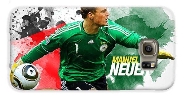 Manuel Neuer Galaxy S6 Case by Semih Yurdabak