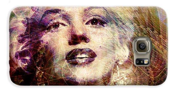 Marilyn Galaxy S6 Case by Barbara Berney