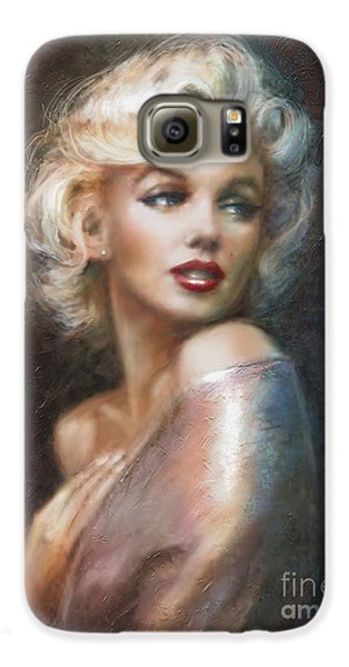 Marilyn Ww Soft Galaxy S6 Case by Theo Danella