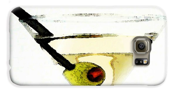 Martini With Green Olive Galaxy S6 Case by Sharon Cummings
