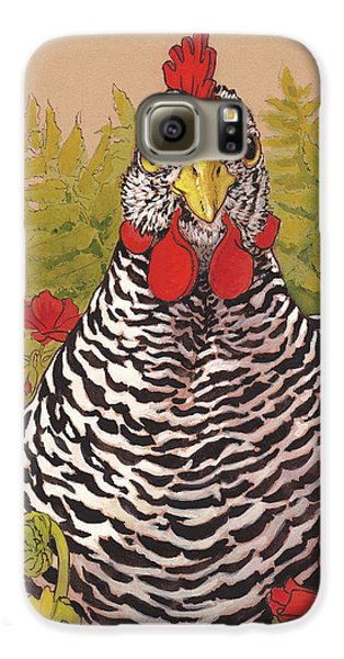 Matilda In The Geraniums Galaxy S6 Case by Tracie Thompson