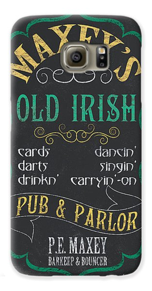 Maxey's Old Irish Pub Galaxy S6 Case by Debbie DeWitt