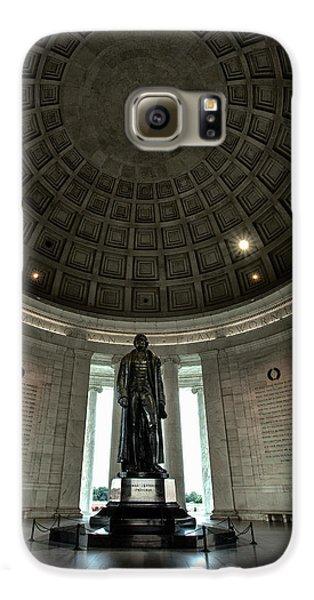 Memorial To Thomas Jefferson Galaxy S6 Case by Andrew Soundarajan