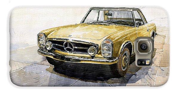 Mercedes Benz W113 Pagoda Galaxy S6 Case by Yuriy  Shevchuk