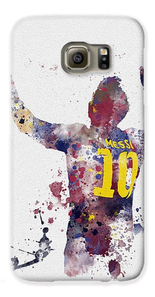 Messi Galaxy S6 Case by Rebecca Jenkins