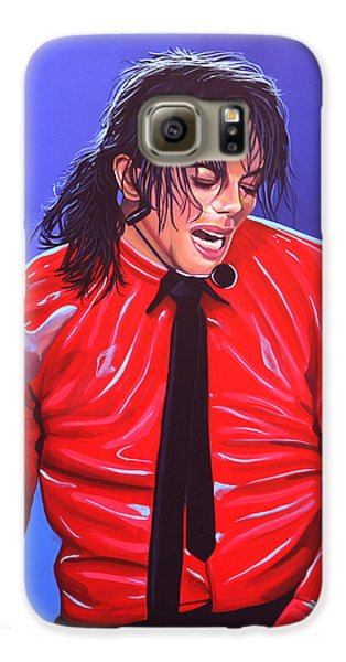 Michael Jackson 2 Galaxy S6 Case by Paul Meijering