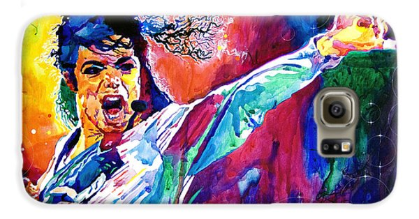 Michael Jackson Force Galaxy S6 Case by David Lloyd Glover