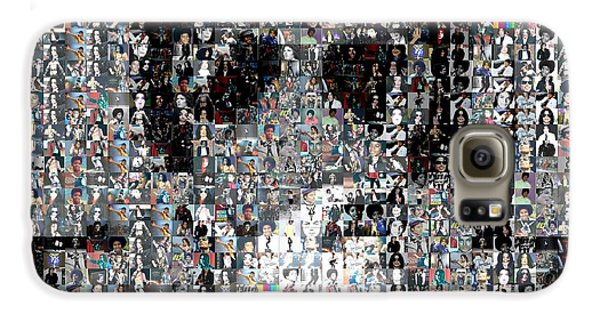 Michael Jackson Glove Montage Galaxy S6 Case by Paul Van Scott