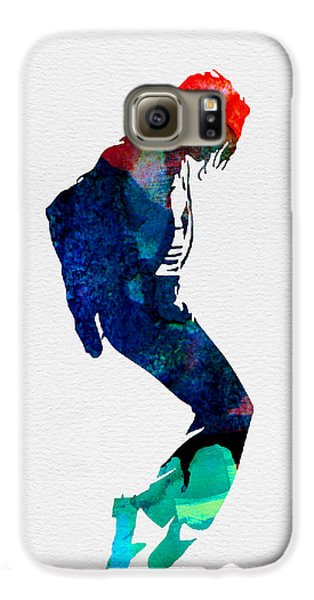 Michael Watercolor Galaxy S6 Case by Naxart Studio