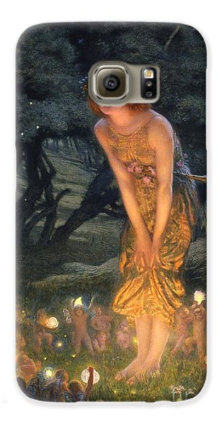 Midsummer Eve Galaxy S6 Case by Edward Robert Hughes