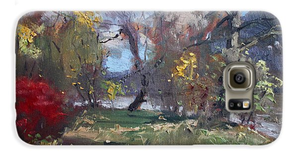 Mixed Weather In A Fall Afternoon Galaxy S6 Case by Ylli Haruni