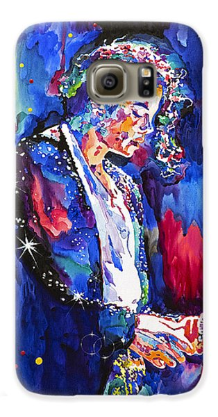 Mj Final Performance II Galaxy S6 Case by David Lloyd Glover