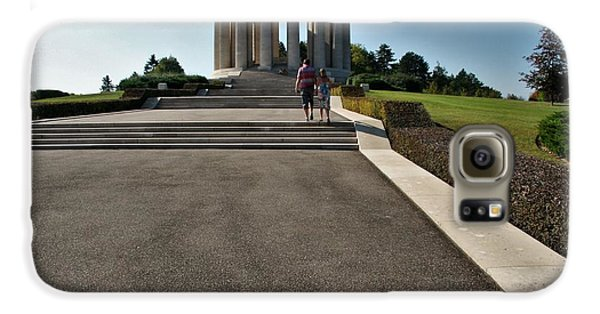 Galaxy S6 Case featuring the photograph Montsec American Monument by Travel Pics