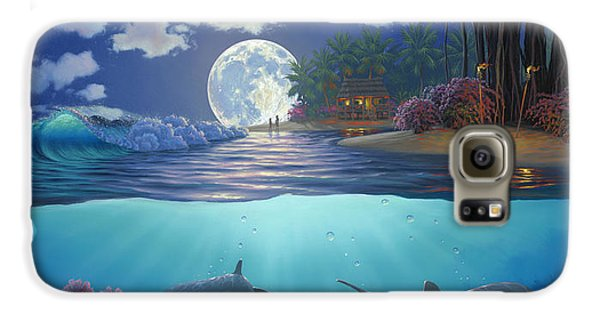Moonlit Sanctuary Galaxy S6 Case by Al Hogue