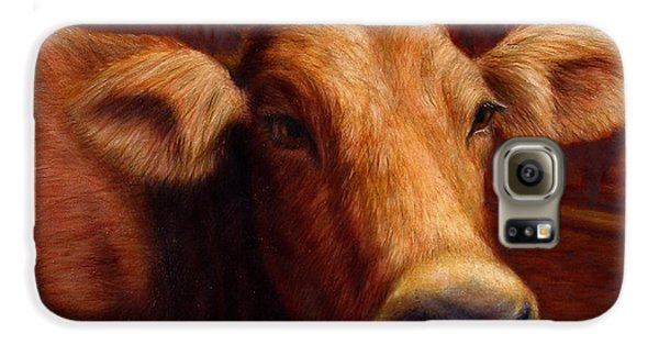 Mrs. O'leary's Cow Galaxy S6 Case by James W Johnson