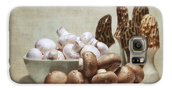 Mushrooms And Carvings Galaxy S6 Case by Tom Mc Nemar