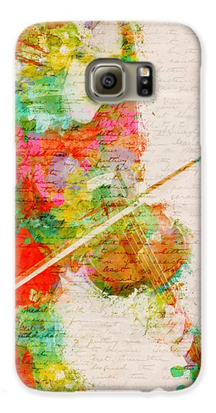 Music In My Soul Galaxy S6 Case by Nikki Smith