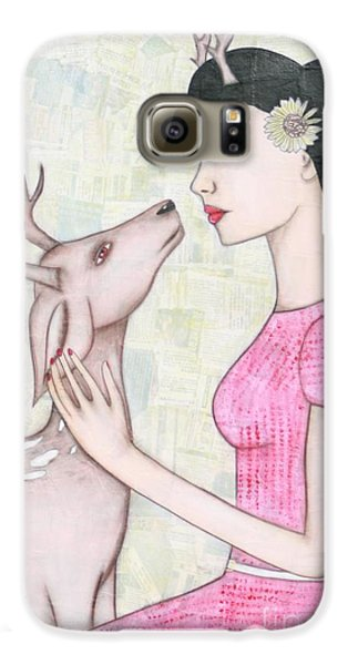 My Deer Galaxy S6 Case by Natalie Briney