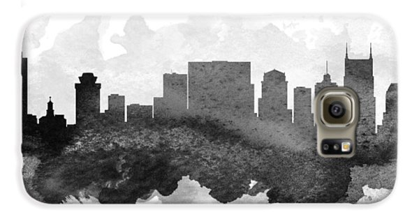 Nashville Cityscape 11 Galaxy S6 Case by Aged Pixel