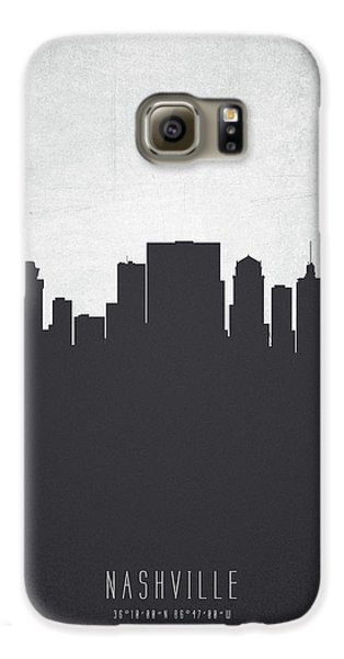 Nashville Tennessee Cityscape 19 Galaxy S6 Case by Aged Pixel