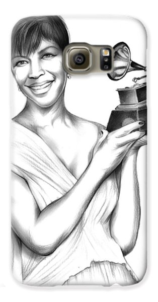 Natalie Cole Galaxy S6 Case by Greg Joens