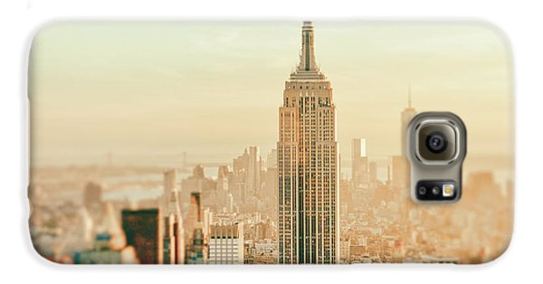 New York City - Skyline Dream Galaxy S6 Case by Vivienne Gucwa