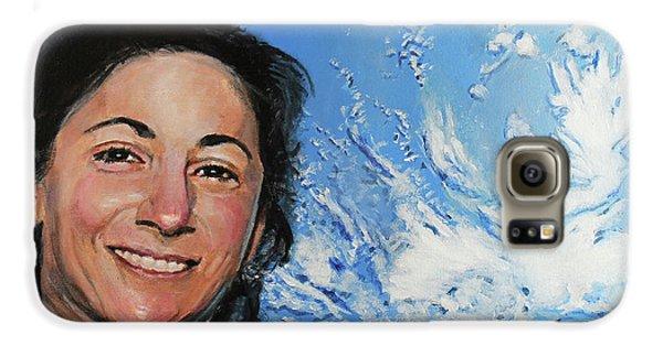 Nicole Stott Galaxy S6 Case by Simon Kregar