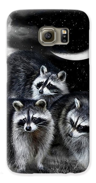 Night Bandits Galaxy S6 Case by Carol Cavalaris