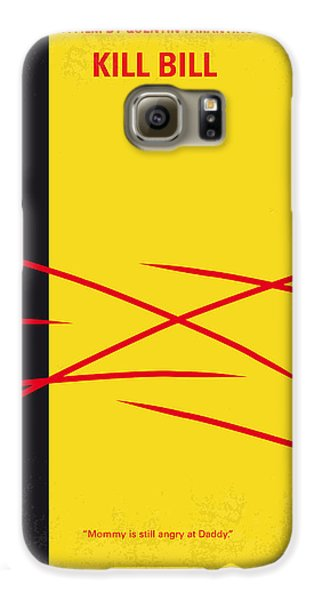 No049 My Kill Bill-part2 Minimal Movie Poster Galaxy S6 Case by Chungkong Art