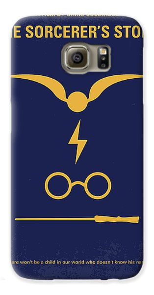 No101 My Harry Potter Minimal Movie Poster Galaxy S6 Case by Chungkong Art