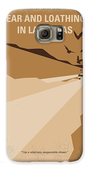 No293 My Fear And Loathing Las Vegas Minimal Movie Poster Galaxy S6 Case by Chungkong Art