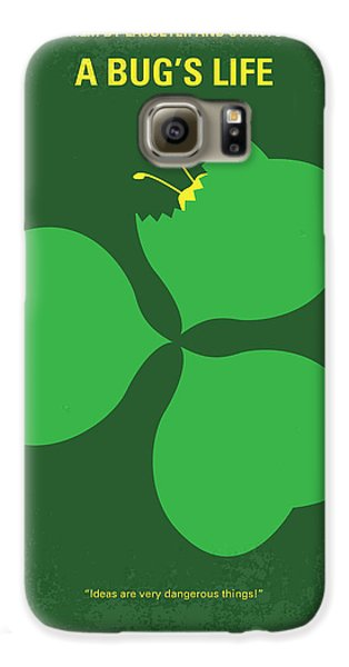 No401 My A Bugs Life Minimal Movie Poster Galaxy S6 Case by Chungkong Art