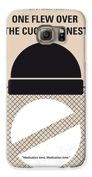 No454 My One Flew Over The Cuckoos Nest Minimal Movie Poster Galaxy S6 Case by Chungkong Art