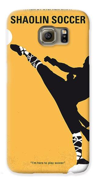 No480 My Shaolin Soccer Minimal Movie Poster Galaxy S6 Case by Chungkong Art