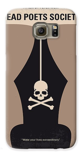 No486 My Dead Poets Society Minimal Movie Poster Galaxy S6 Case by Chungkong Art