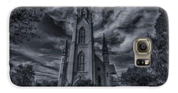 Notre Dame University Church Galaxy S6 Case by David Haskett