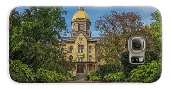 Notre Dame University Q Galaxy S6 Case by David Haskett