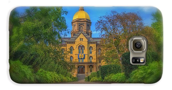 Notre Dame University Q2 Galaxy S6 Case by David Haskett