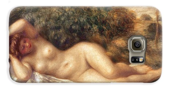 Nude Galaxy S6 Case by Pierre Auguste Renoir