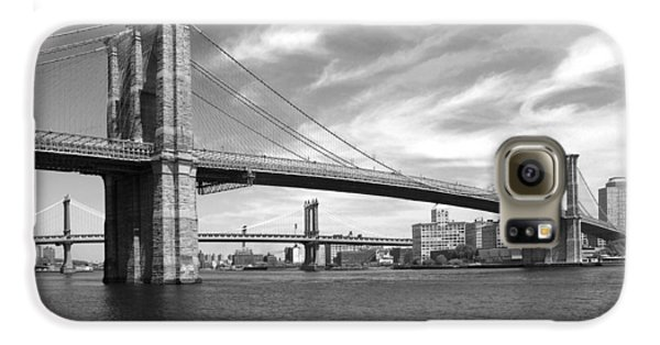 Nyc Brooklyn Bridge Galaxy S6 Case by Mike McGlothlen