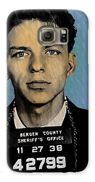 Old Blue Eyes - Frank Sinatra Galaxy S6 Case by Bill Cannon